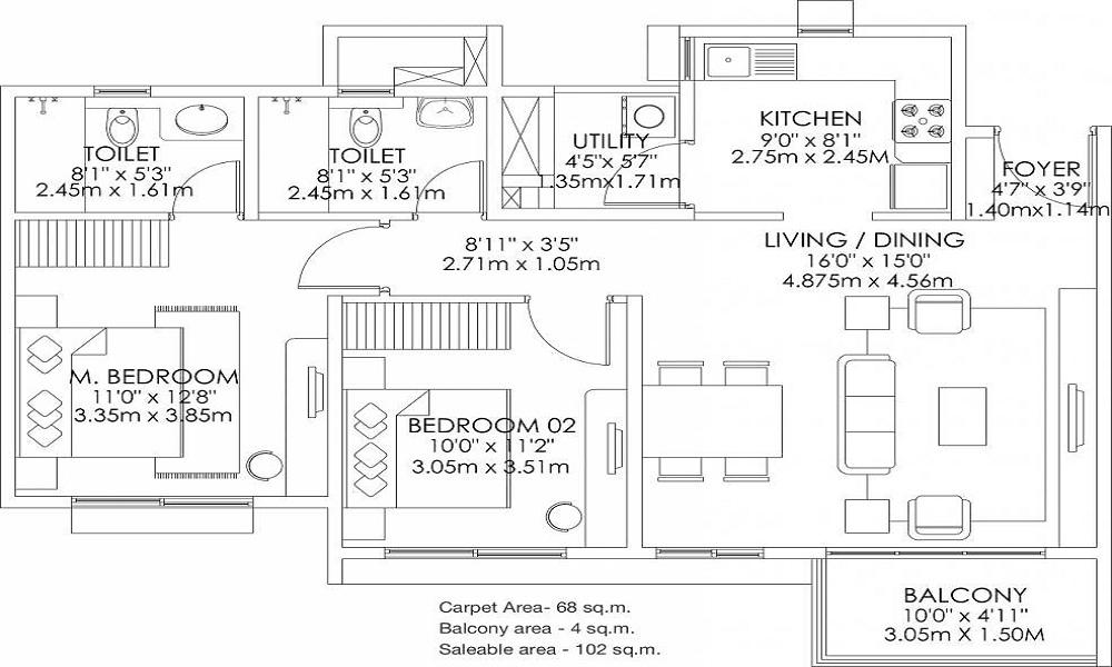 Godrej Aqua Floor Plan