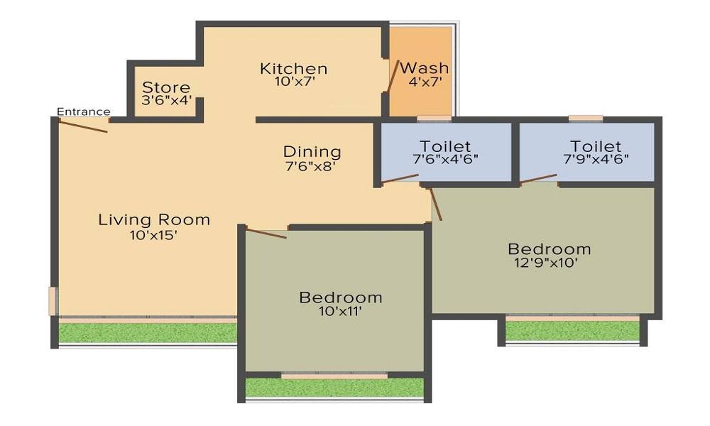 Aaryan Aavishkar Floor Plan