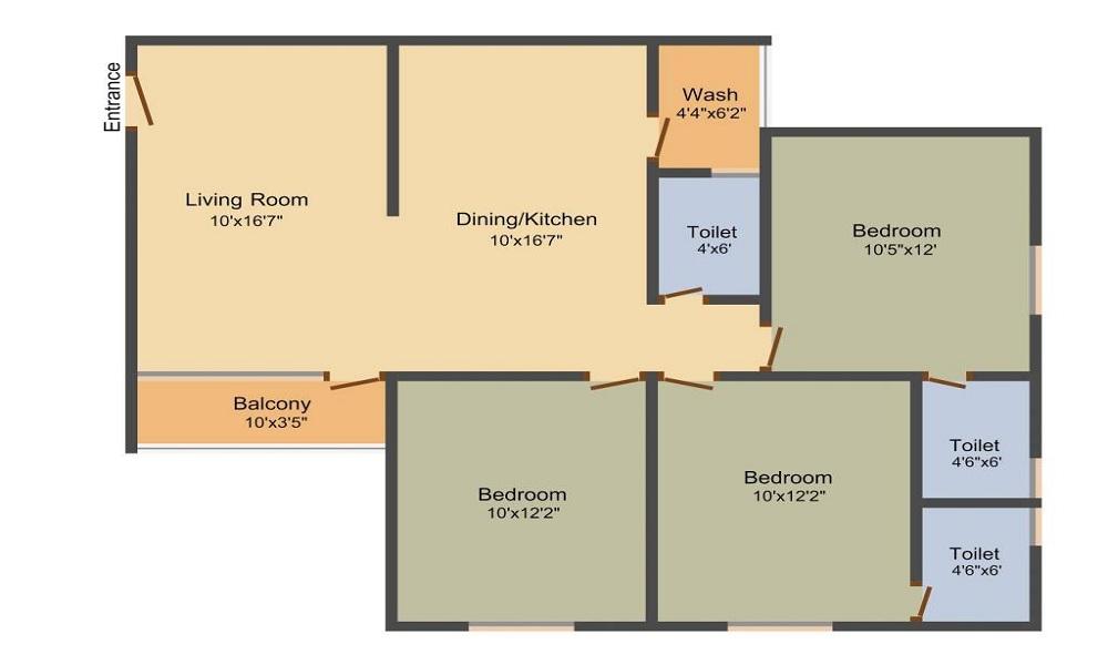 Festival Residency 2 Floor Plan