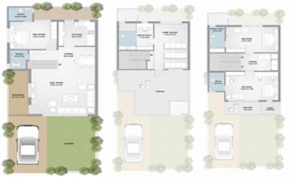 NB Parshwa Homes Floor Plan