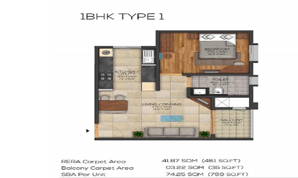 Brigade Utopia Floor Plan