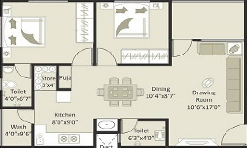 Soham Sanidhya Floor Plan