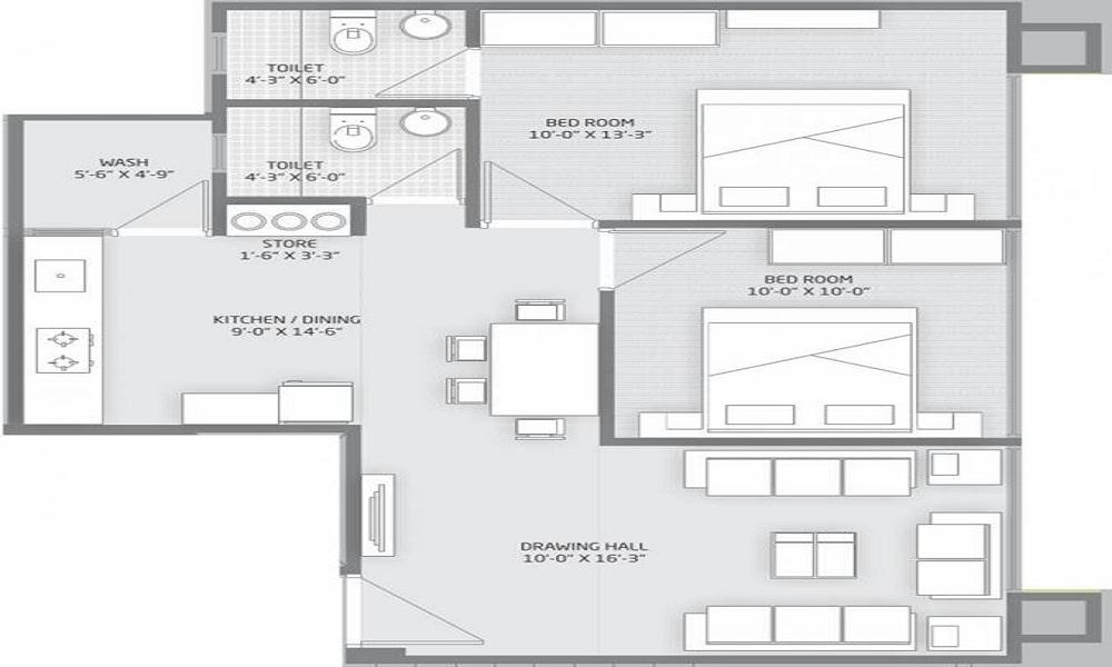 Shapers Swastik Elements Floor Plan