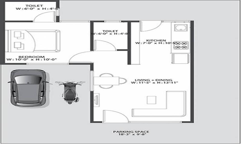 Addor Swayam Residency Floor Plan