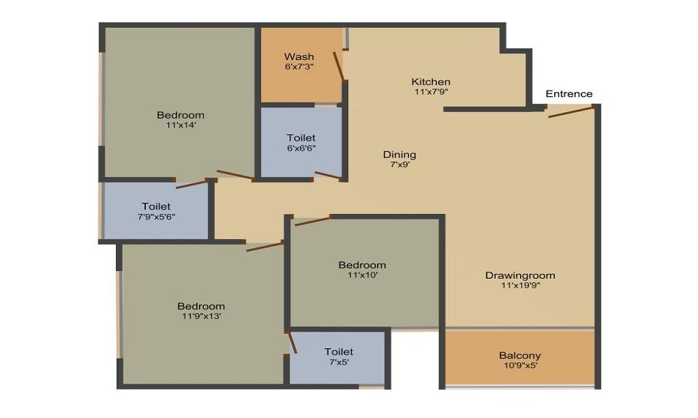 Sun Centrum Floor Plan