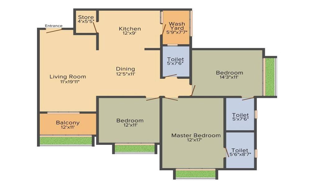 Nishant Ratnaakar Halcyon Floor Plan