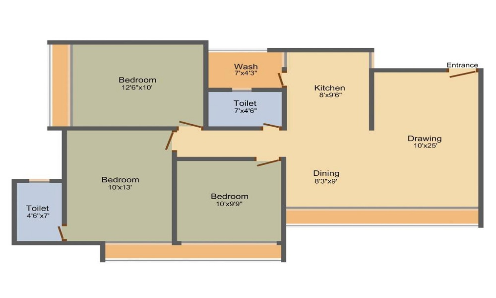 Avirat Silver Altezza Floor Plan