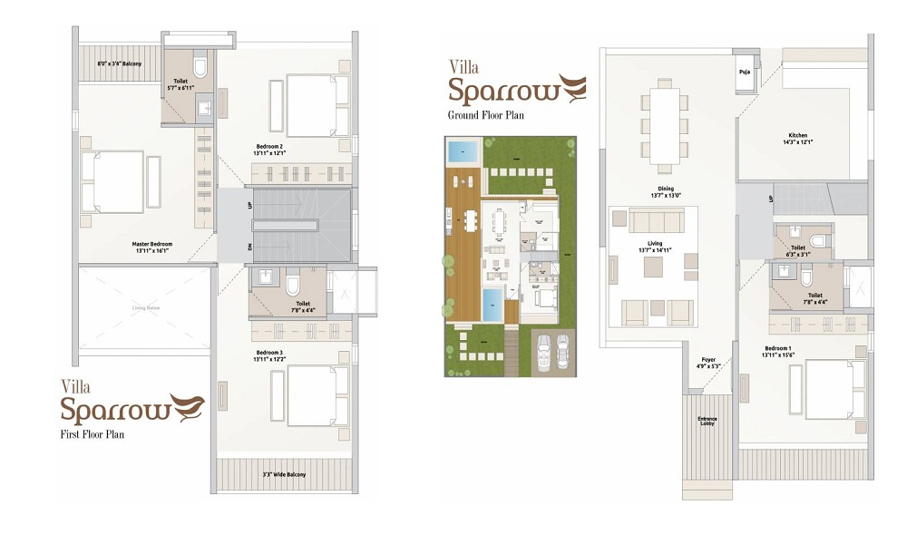 Arvind Sparrow Floor Plan