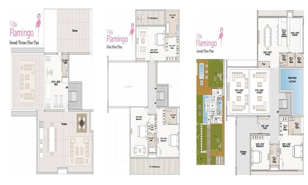 Arvind Flamingo Floor Plan