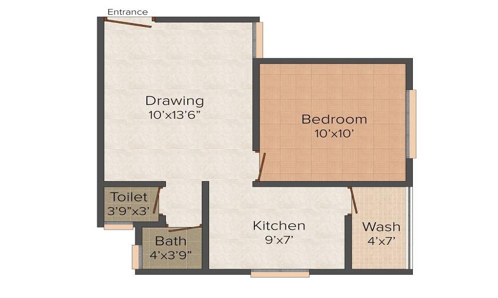 Divyajivan City Floor Plan