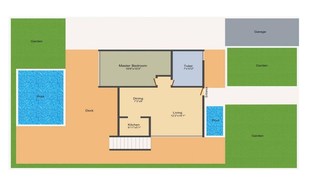 Arvind Beyond Five Villas Floor Plan