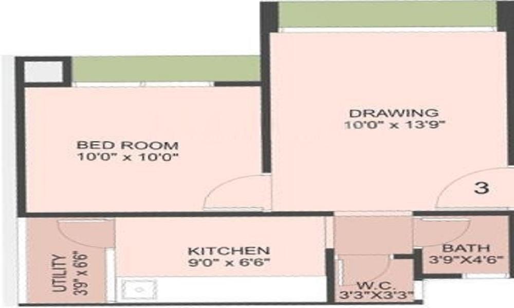 Dharmadev Swaminarayan Park 7 Floor Plan