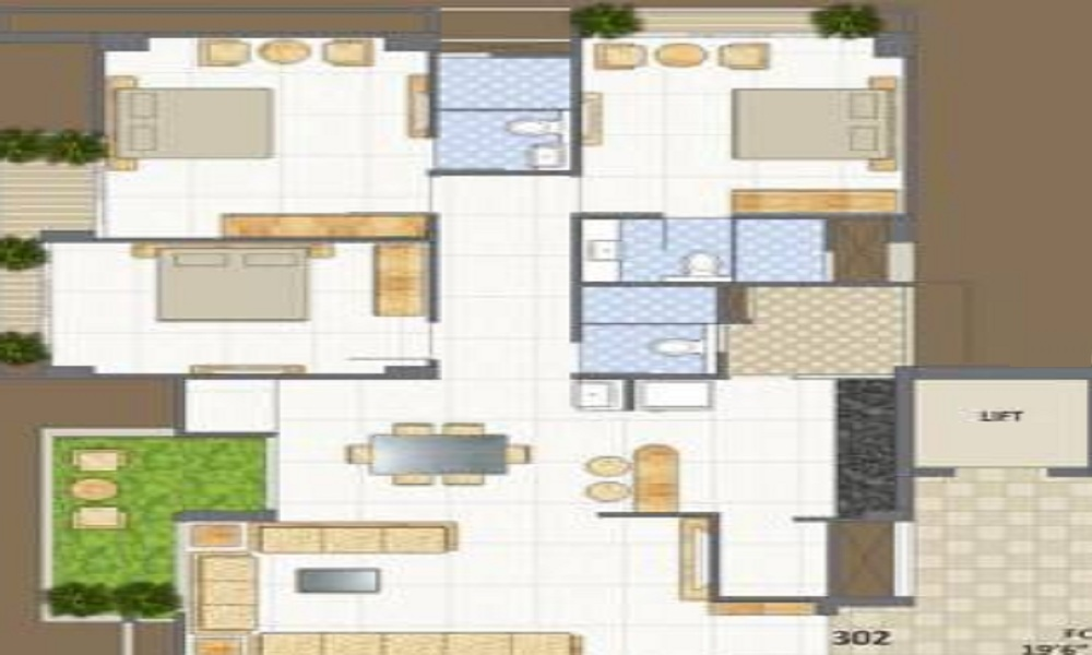Sadhna Skywalk Floor Plan
