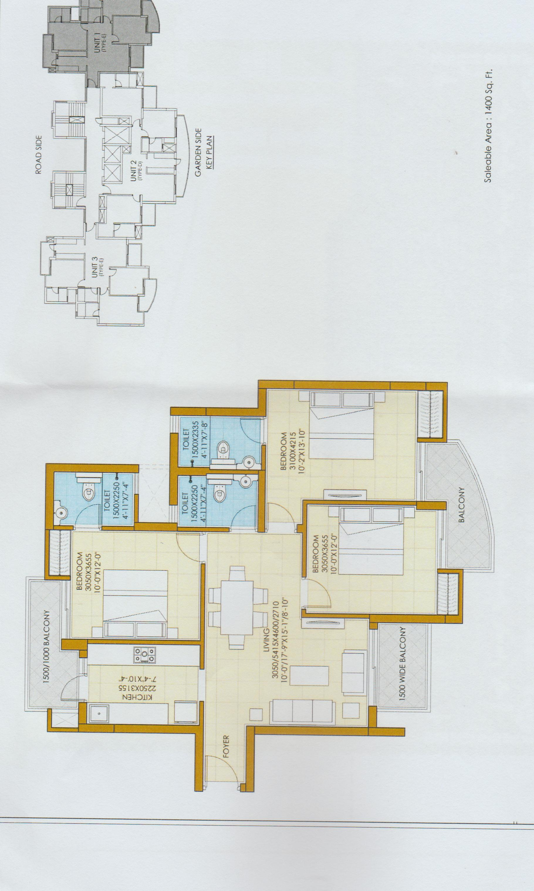 ATS Pious Hideaways Floor Plan