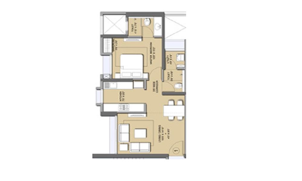 Lodha Codename Bullseye Floor Plan