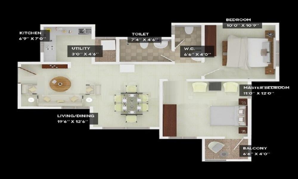 Provident Welworth City Floor Plan