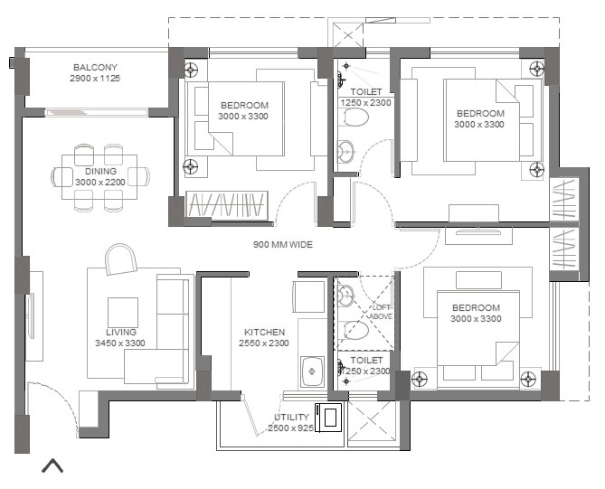 Godrej Sector 43 Noida Floor Plan