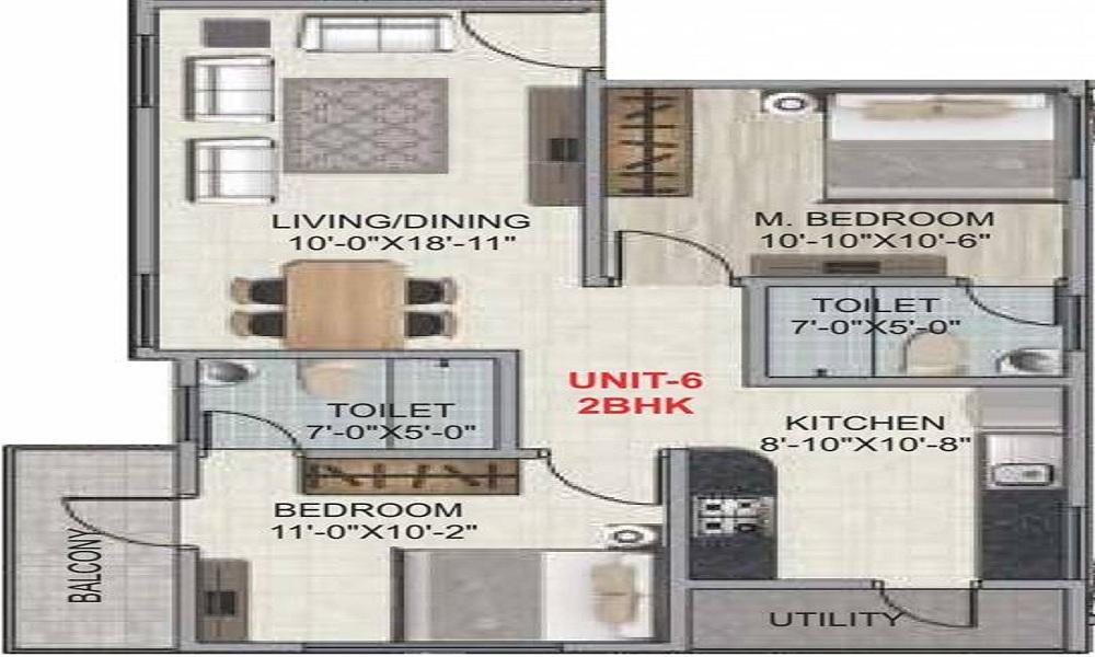 Amigo Regency Floor Plan