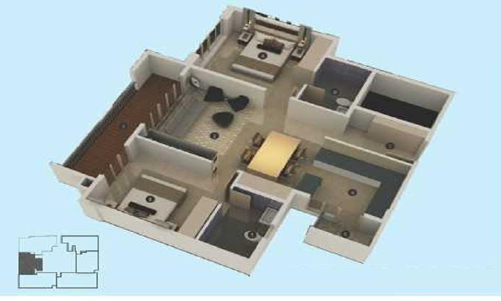 SLV Sky Houses Floor Plan