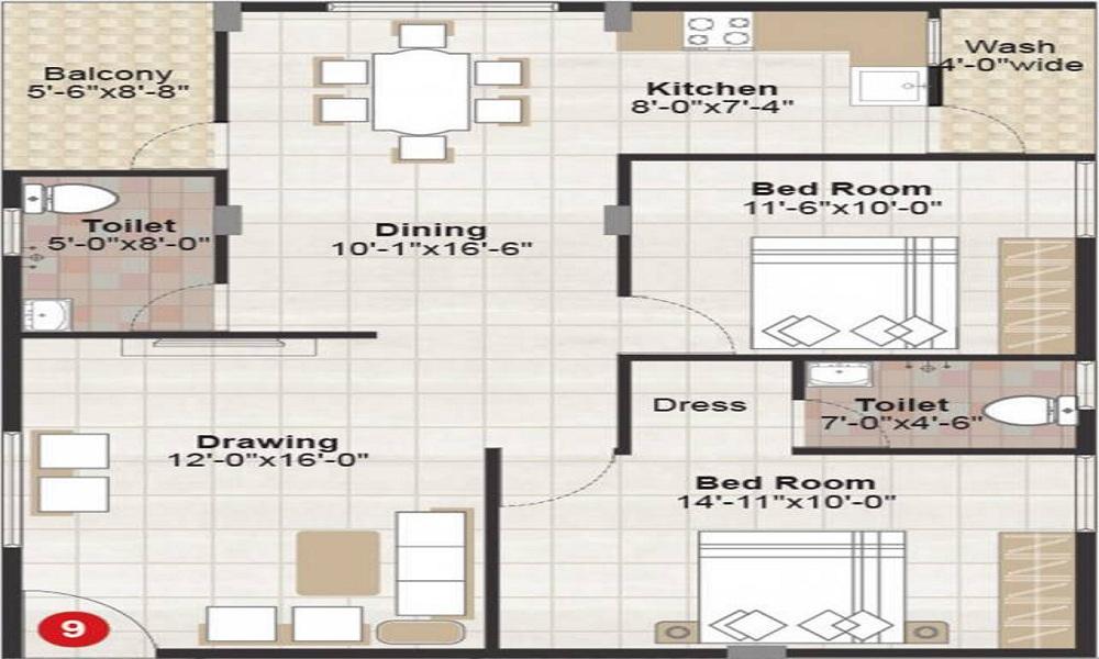 VBC Oracle Heaven Floor Plan