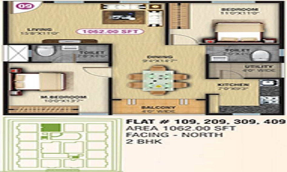 NCN Srivari Floor Plan