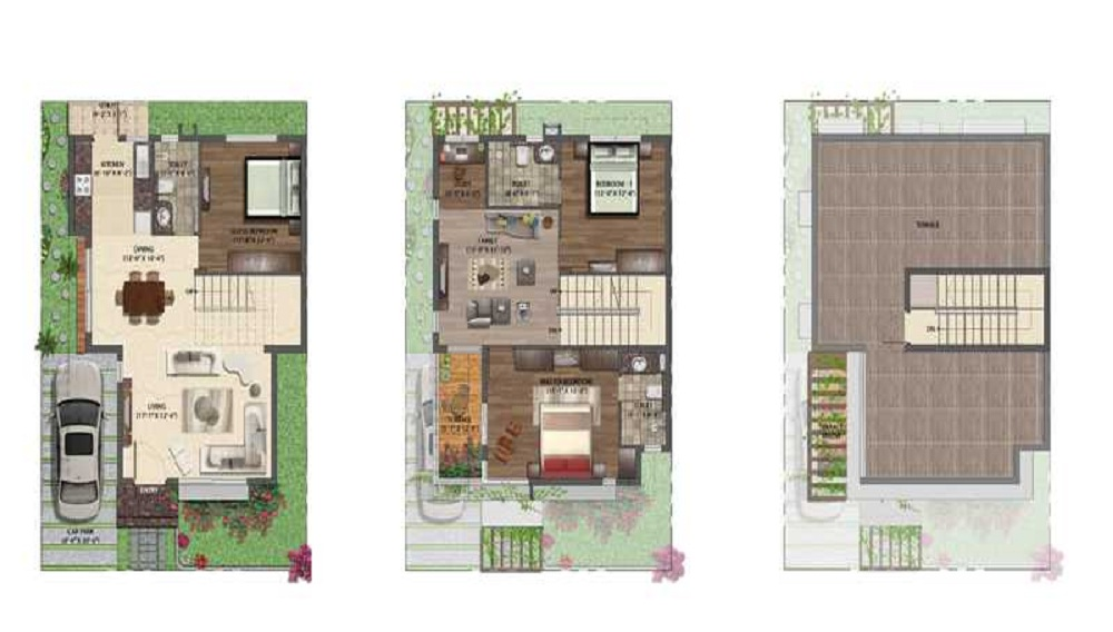 NVT Mystic Garden Floor Plan