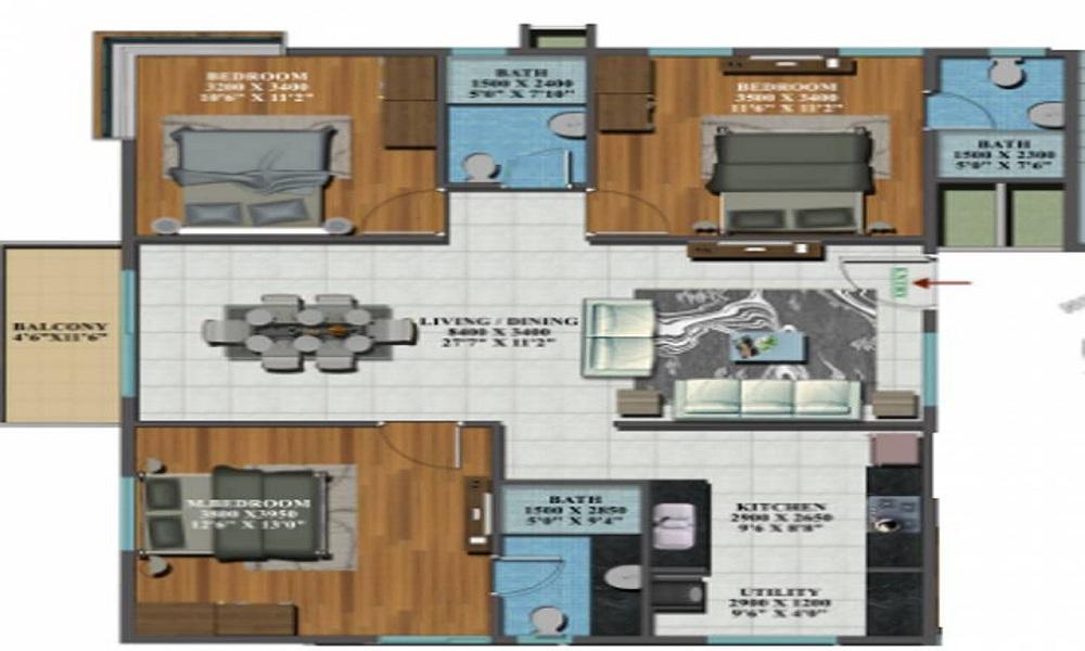 Candeur Carlisle Reviews Mahadevpura Bangalore Price Location Floor Plan