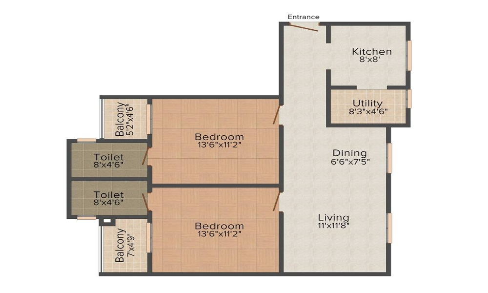 Griha Unnathi Floor Plan