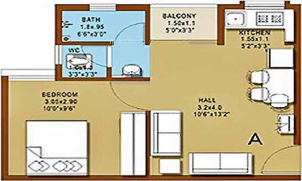 Janaadhar Shubha Floor Plan
