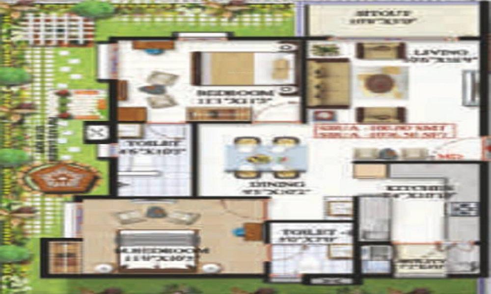 Sai Platinum Gardenia Floor Plan