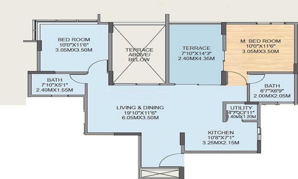 Gera Misty Waters Floor Plan