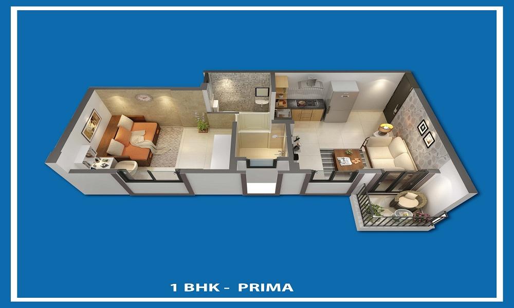 Peninsula Address One Floor Plan