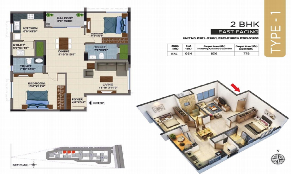 NCC Urban Mayfair Floor Plan