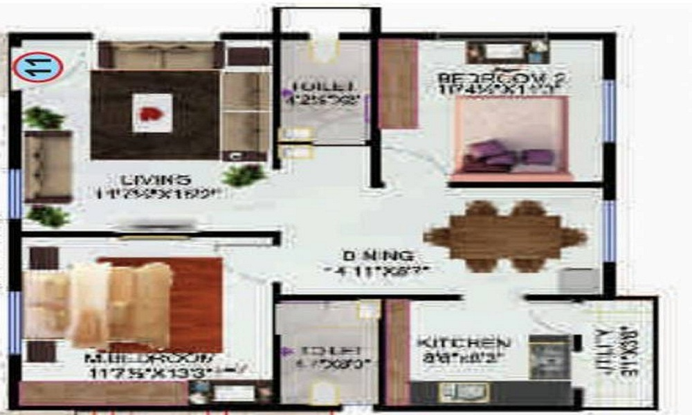 Ashoka Legend Floor Plan