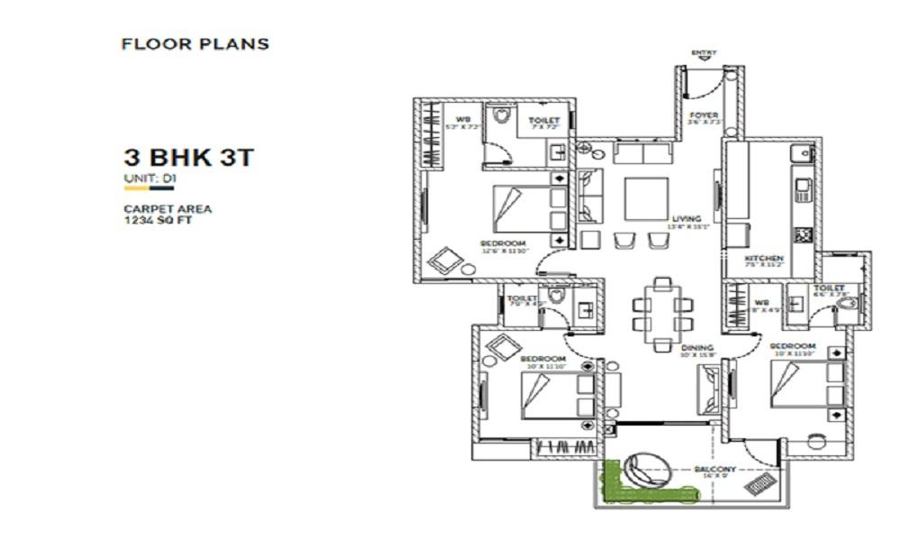 Assetz Sun And Sanctum Floor Plan