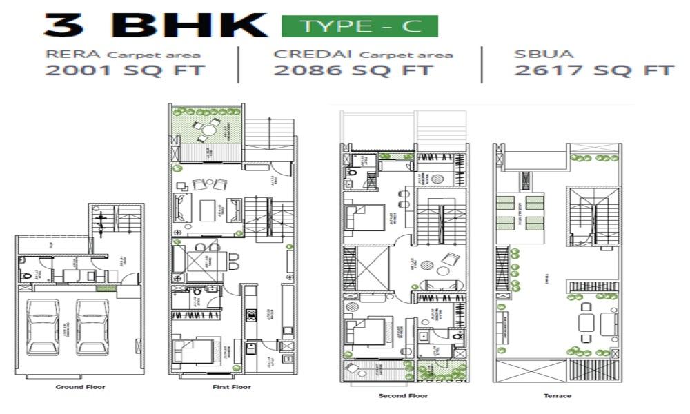 Assetz Leaves And Lives Floor Plan