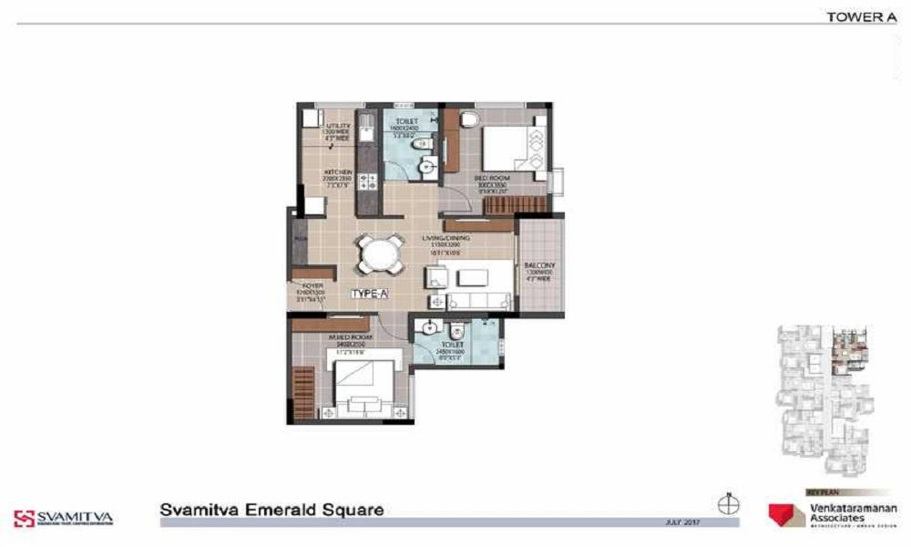 Svamitva Emerald Square Floor Plan