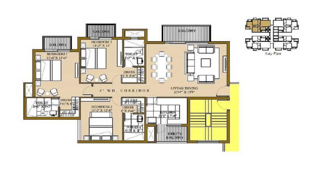 ATS Pristine Phase II Floor Plan