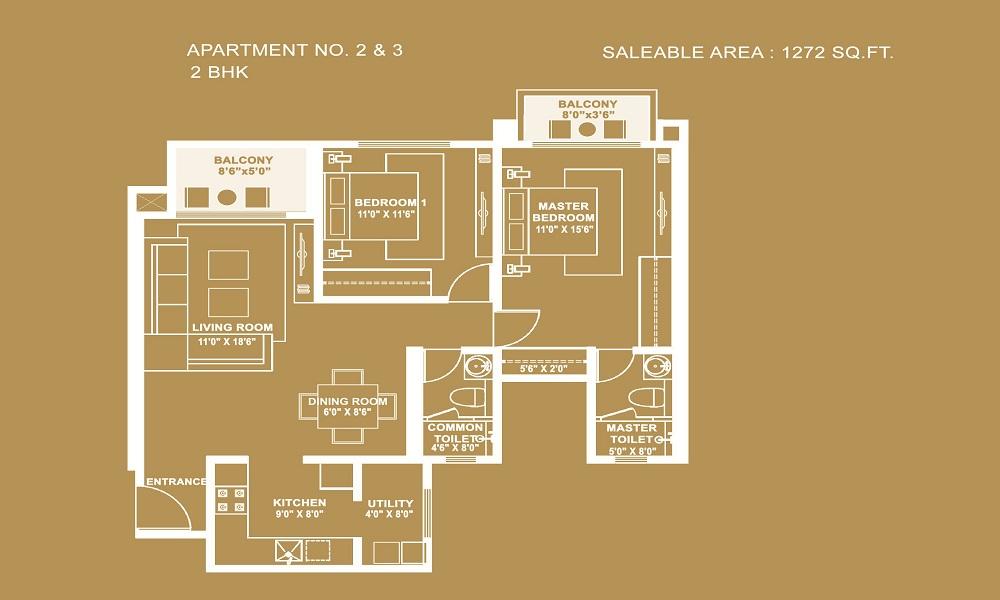 Hiranandani Evita Floor Plan