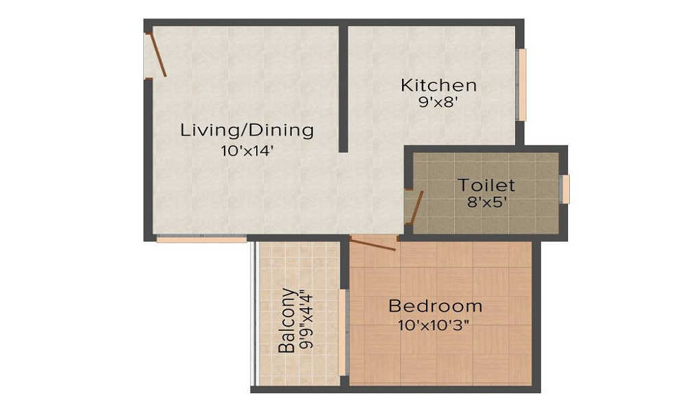 Konark Krish 2 Floor Plan