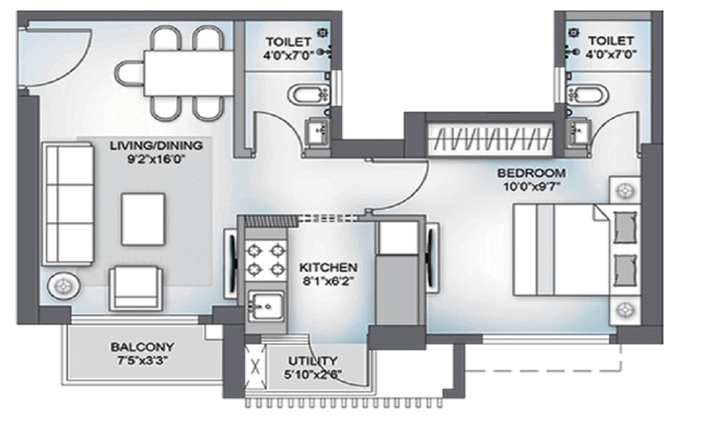 Birla Vanya Floor Plan