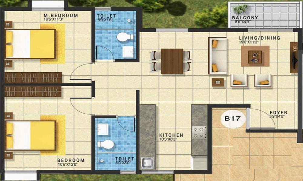 GRC Subhiksha Floor Plan