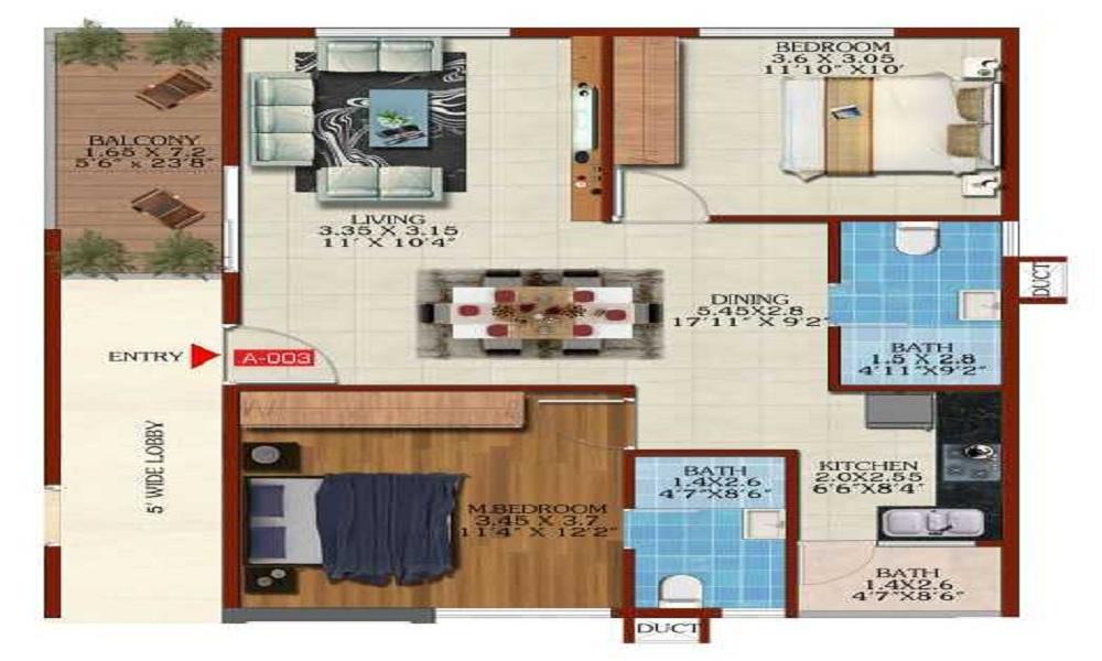 Estella Maple Square Block B Floor Plan