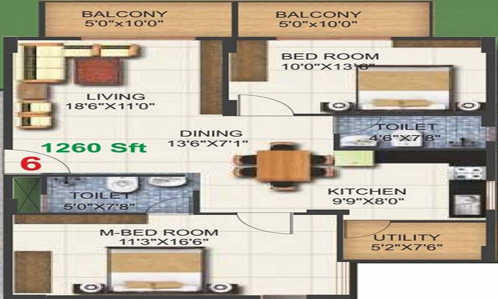 Pioneer Kingstown Floor Plan