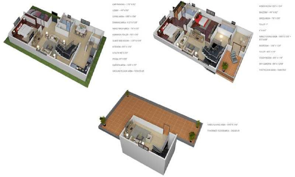 Yashasvi Green Avenues Floor Plan