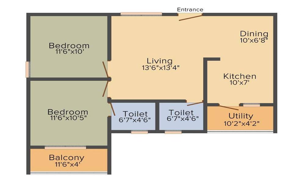Peace Rhythm Floor Plan