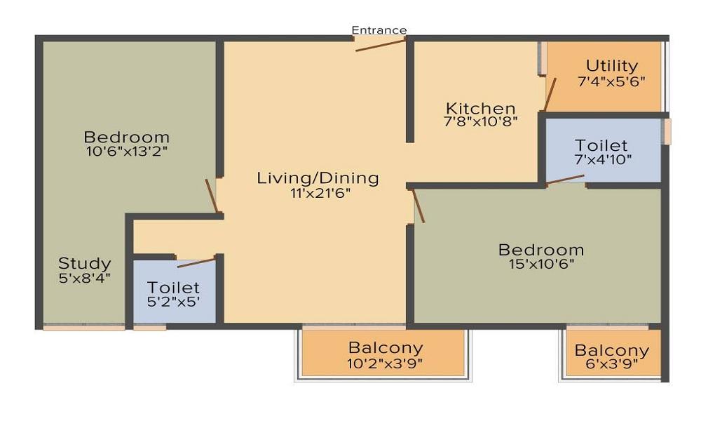 Vakil Magnolia Floor Plan