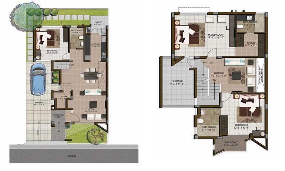 Casagrand Esmeralda Floor Plan