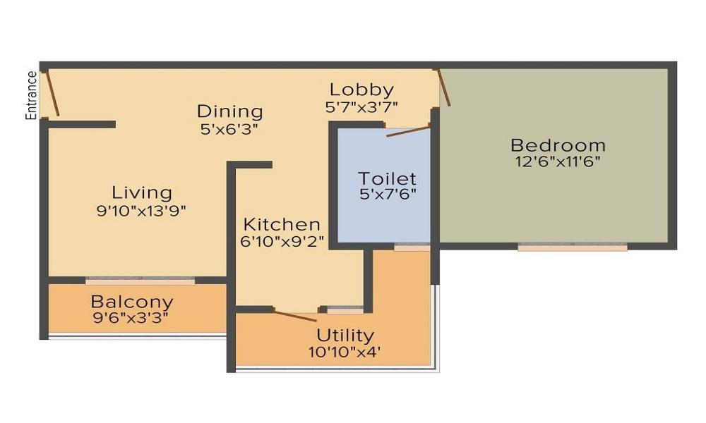 Excel Codename Five Rings Apartment Floor Plan