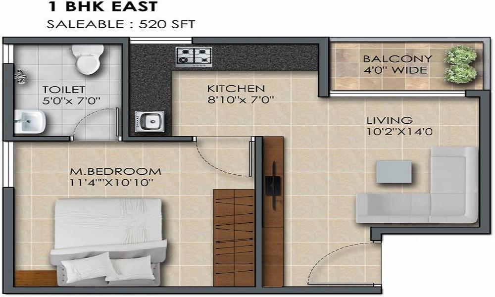 Subha 9 Sky Vue Floor Plan